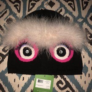 NWT Kate Spade ♠️ Monster beani.